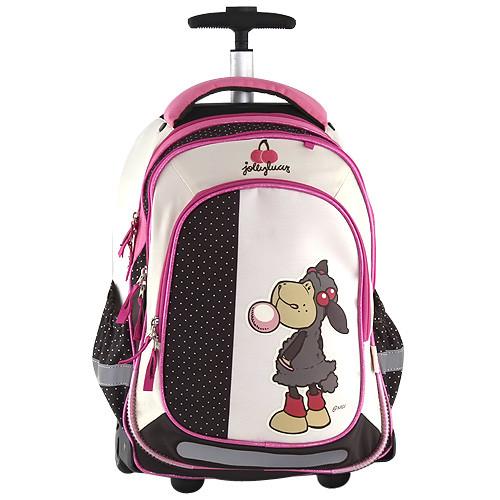 Nici Školní batoh trolley - Bubble