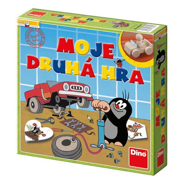 Moje druhá hra Krtek společenská hra v krabici