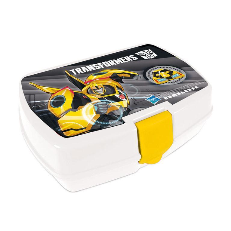 Box na svačinu Transformers ŽLUTÝ