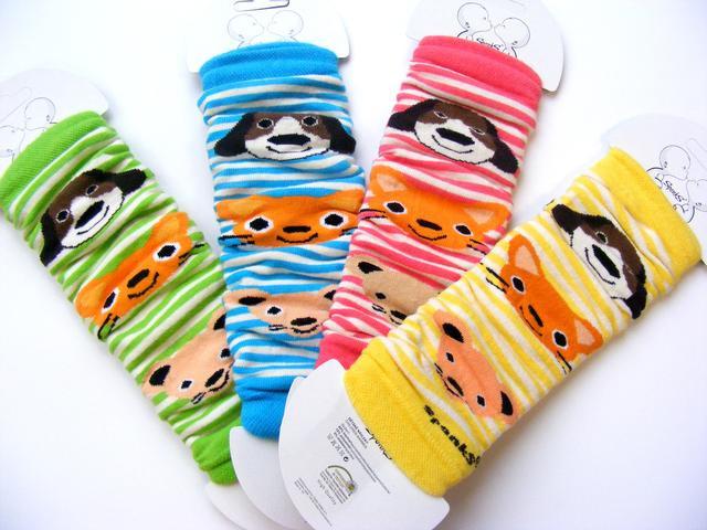 Design Socks Dětské návleky na nožičky zvířátka