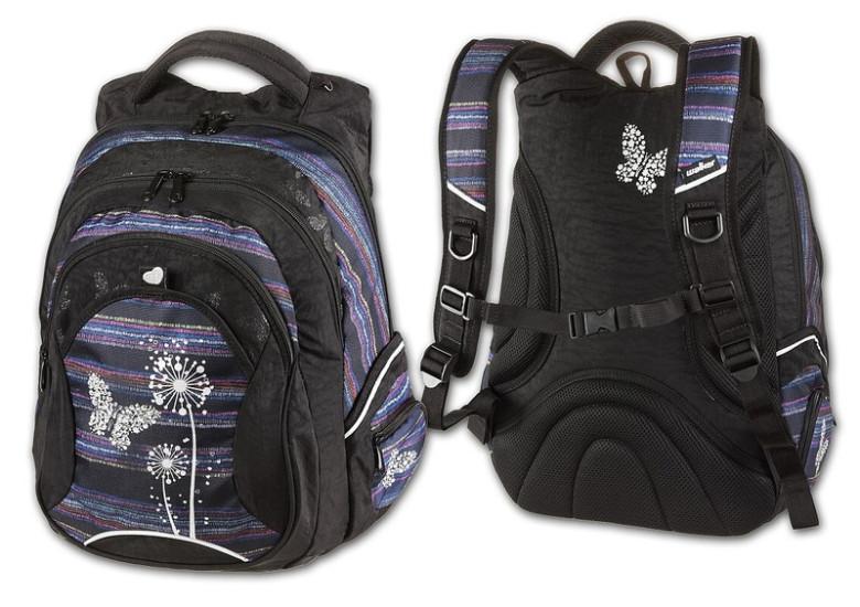 Walker Studentský batoh Paradise fialová