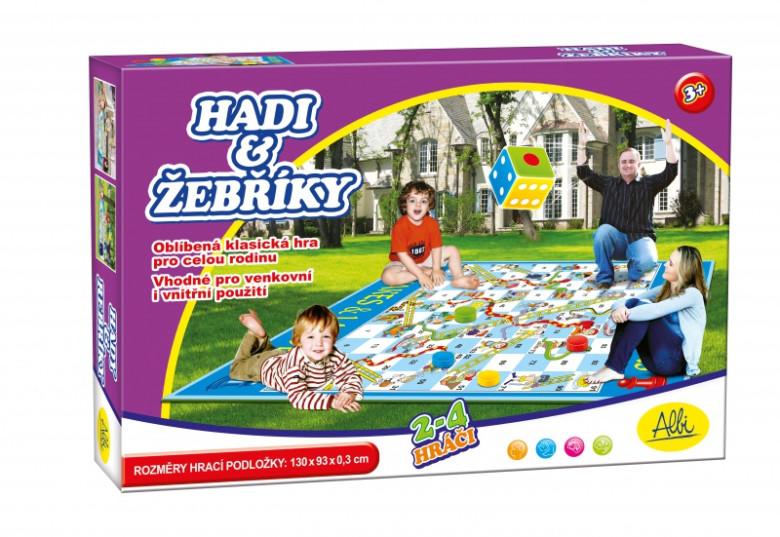 Albi - Hadi a žebříky - venkovní hra