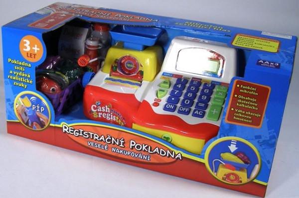 Mac Toys MAC TOYS Pokladna elektronická dětská