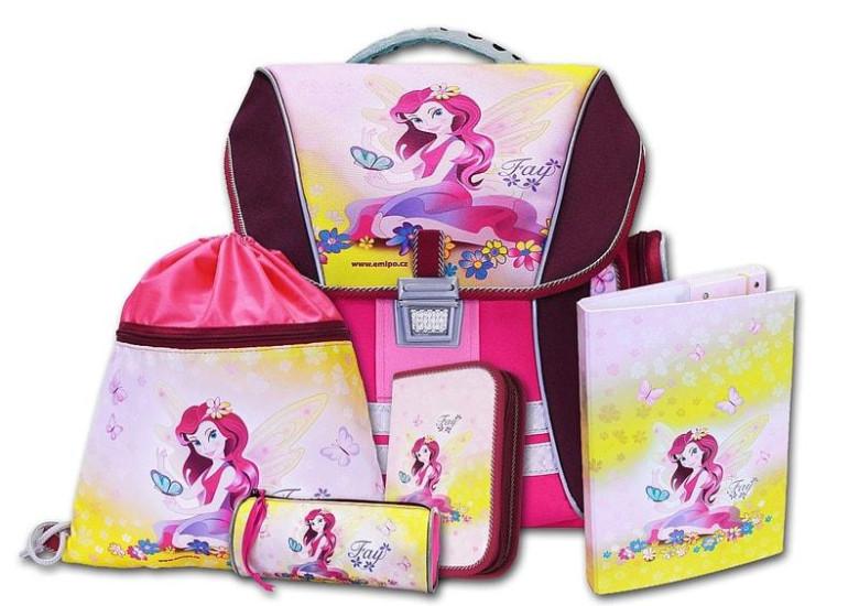 Školní batohový set Fay 5-dílný Emipo  d120ff9223