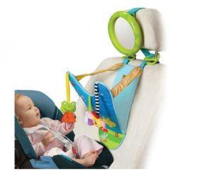 Hrací pultík se zpětným zrcátkem do auta Taf Toys