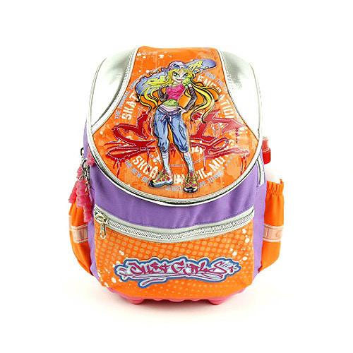 Školní batoh Cool - Blondýna se skatem - Just Girls