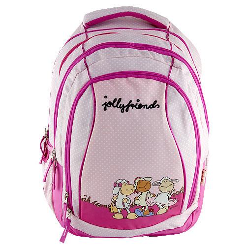 Školní batoh 2v1 Nici - Jolly Friends