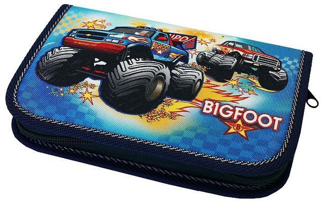 Školní pouzdro 1-klopa plné Bigfoot Emipo
