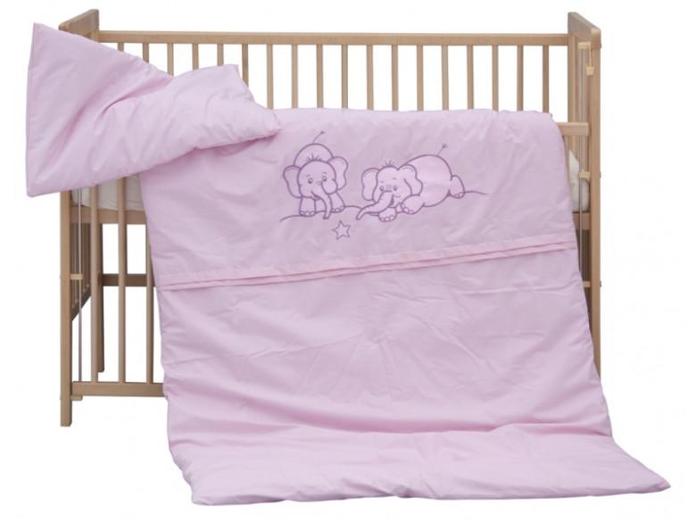 Dětské povlečení 2dílné - Scarlett Bimbo - růžové 100 x 135 cm