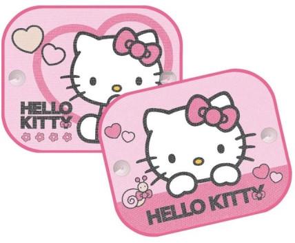 Sluneční clona - stínítko do auta Hello Kitty 2ks