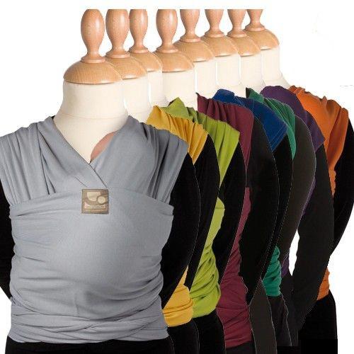 TRICOT-SLEN šátek na nošení dětí Organic z BIOBAVLNY  833e0bd407